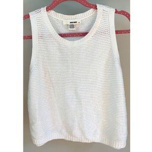 Cotton, Sweater Tank Top☁️